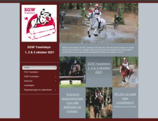 sgw-ysselsteyn.nl screenshot