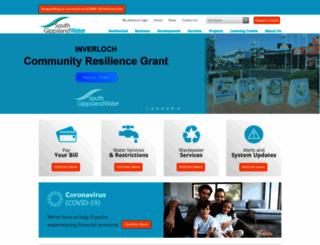 sgwater.com.au screenshot