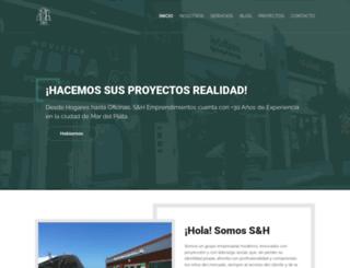 sh-emprendimientos.com.ar screenshot