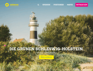sh-gruene.de screenshot