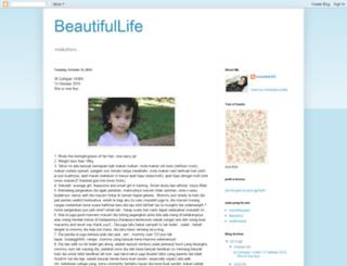 sha-beautifullife.blogspot.com screenshot