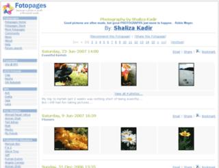 sha-rpi.fotopages.com screenshot