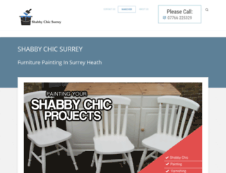shabby-chic-surrey.com screenshot