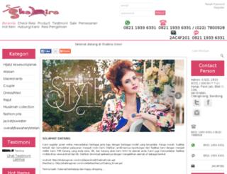 shabira-grosir.com screenshot