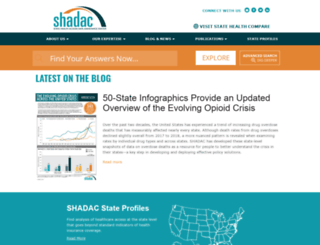 shadac.org screenshot