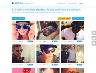 shades.spinnakr.com screenshot