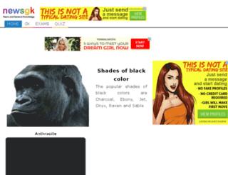 shadesofblack.facts.co screenshot
