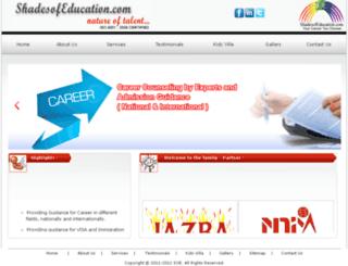 shadesofeducation.com screenshot