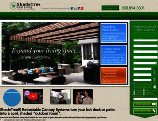 shadetreecanopies.com screenshot