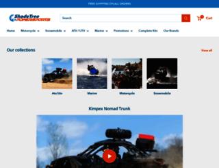 shadetreepowersports.com screenshot