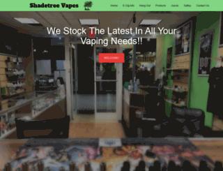 shadetreevapes.com screenshot