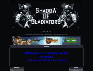 shadow-of-gladiator.do-goo.com screenshot