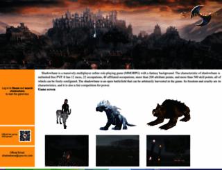 shadowbane.com screenshot