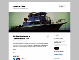 shadowdiver.wordpress.com screenshot