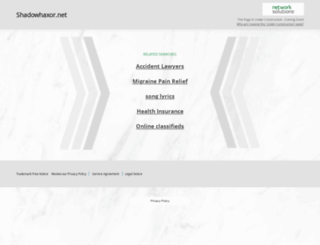 shadowhaxor.net screenshot