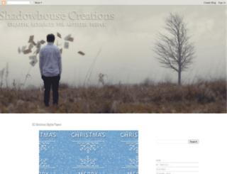 shadowhousecreations.blogspot.com screenshot