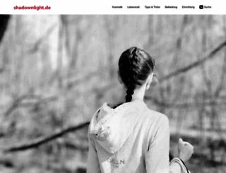 shadownlight.de screenshot