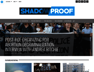 shadowproof.com screenshot