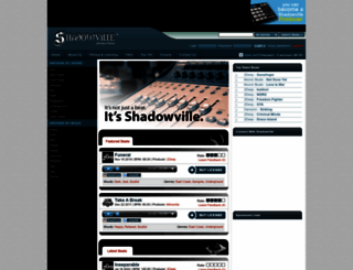 shadowville.com screenshot