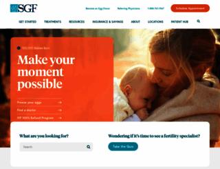 shadygrovefertility.com screenshot