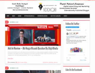 shafiqsiddiqui.com screenshot