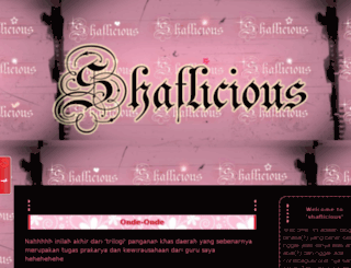 shafiraherlinawati.blogspot.com screenshot