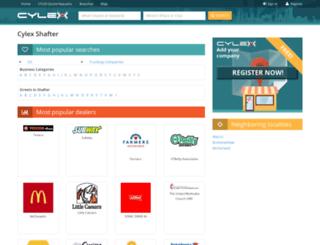 shafter.cylex-usa.com screenshot