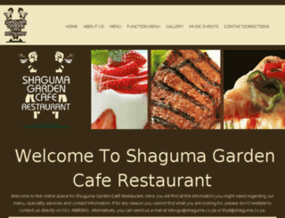 shaguma.co.za screenshot