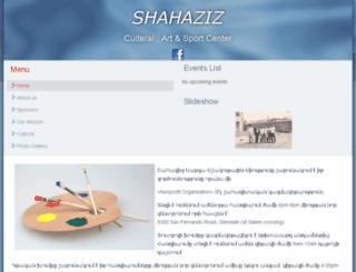 shahaziz.org screenshot