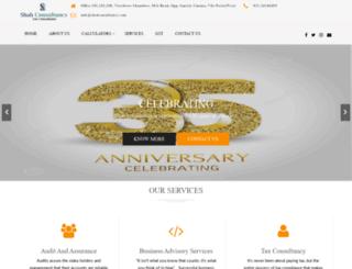shahconsultancy.com screenshot