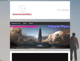 shahjahanphysics.weebly.com screenshot