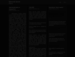shahshirin.wordpress.com screenshot