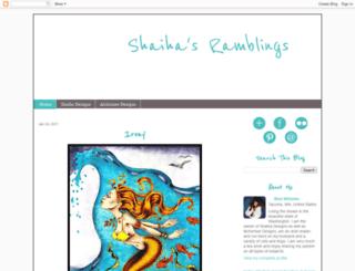 shaihasramblings.blogspot.com screenshot