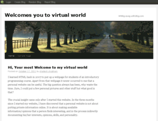 shaileshworld.blog.com screenshot