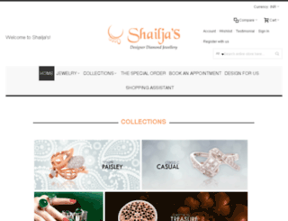 shailjasboutique.com screenshot