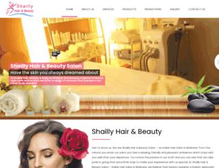 shaillybeauty.com.au screenshot