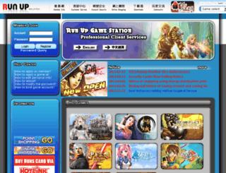 shaiya.runup.com.my screenshot