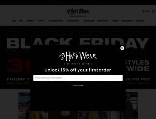 shakawear.com screenshot