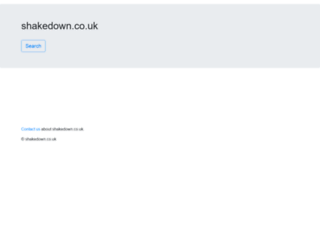shakedown.co.uk screenshot