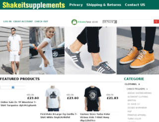 shakeitsupplements.co.uk screenshot