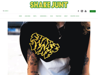 shakejunt.com screenshot