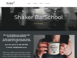 shaker.co.za screenshot