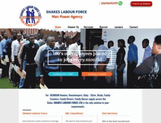 shakescareers.net screenshot