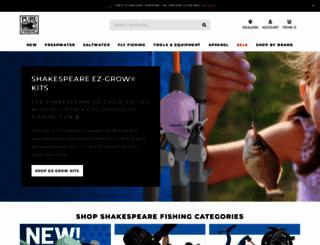 shakespeare-fishing.com screenshot