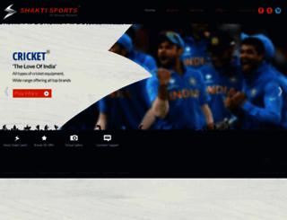 shaktisportsonline.com screenshot