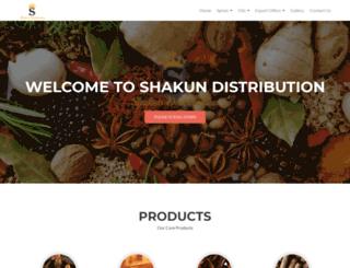 shakundistribution.com screenshot