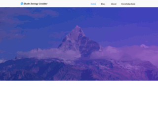 shaleenergyinsider.com screenshot