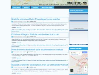 shallotte.us screenshot