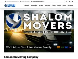 shalommovers.ca screenshot