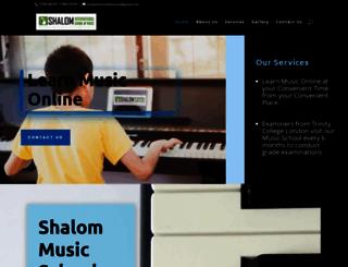 shalomsmusic.com screenshot
